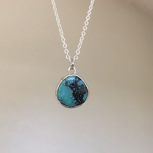 Jewelry - Beautiful Turquoise & Sterling Silver Necklace 💙